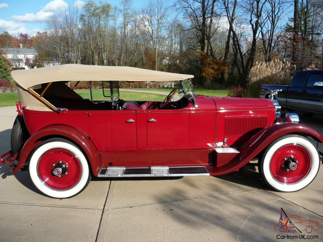 Packard touring photo - 9