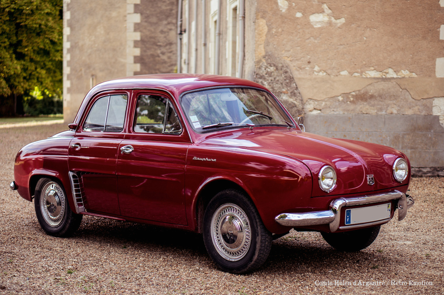 Renault dauphine photo - 1