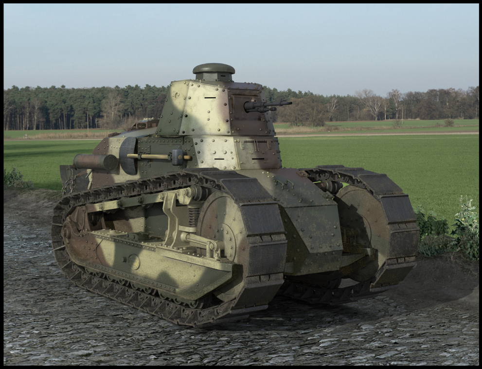 Renault ft-17 photo - 4