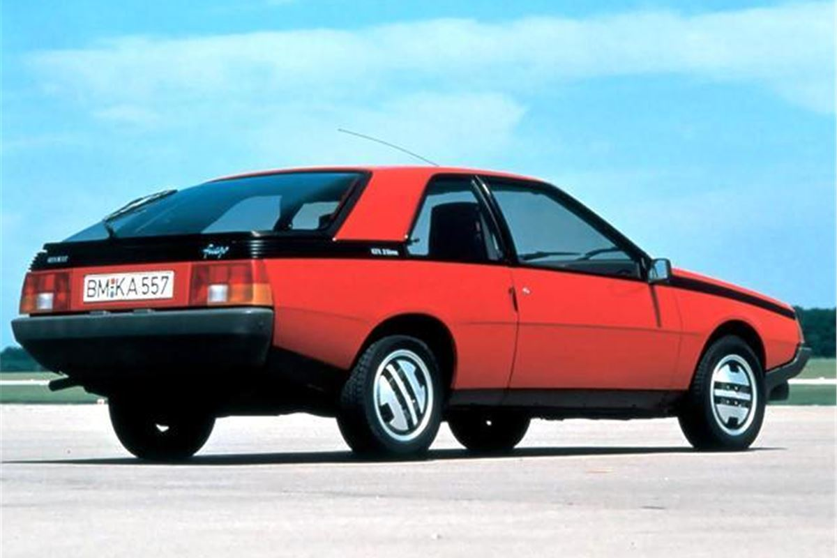 Renault fuego photo - 6