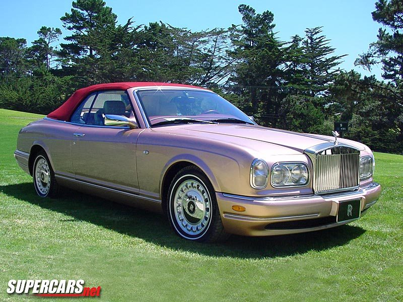 Rolls royce corniche photo - 5
