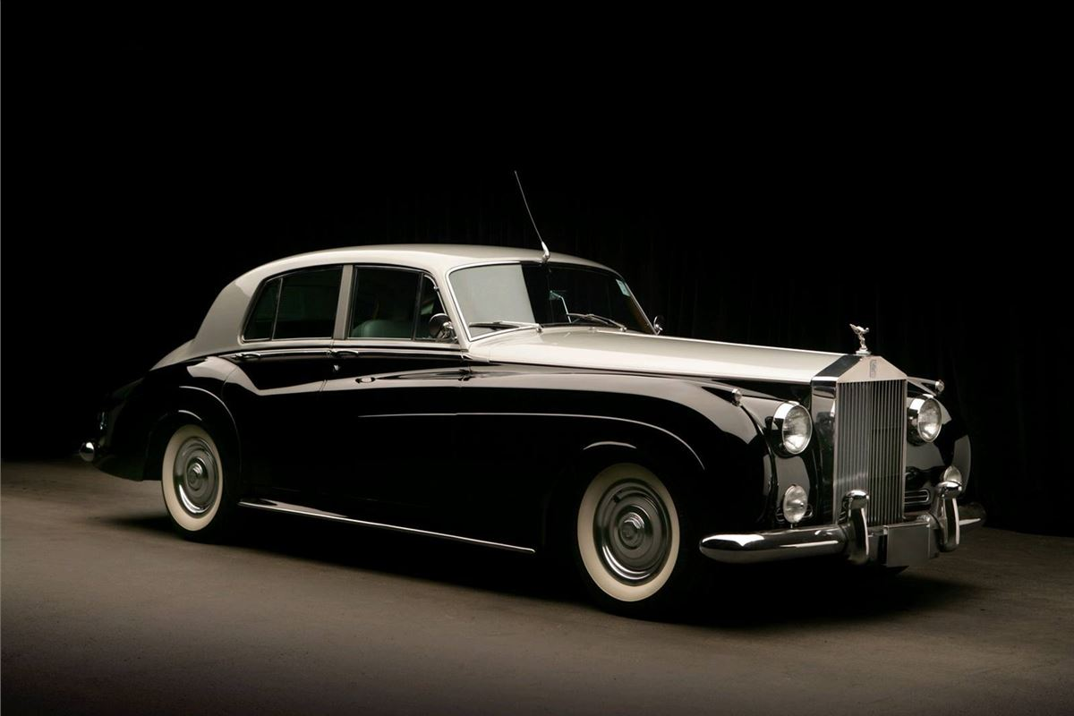 Rolls royce silver photo - 6