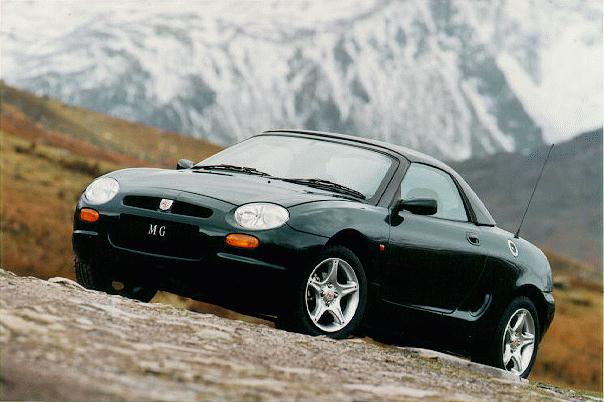 Rover mgf photo - 7