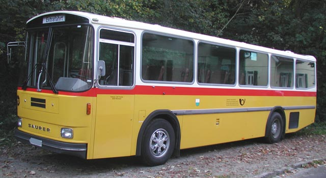 Saurer postbus photo - 7