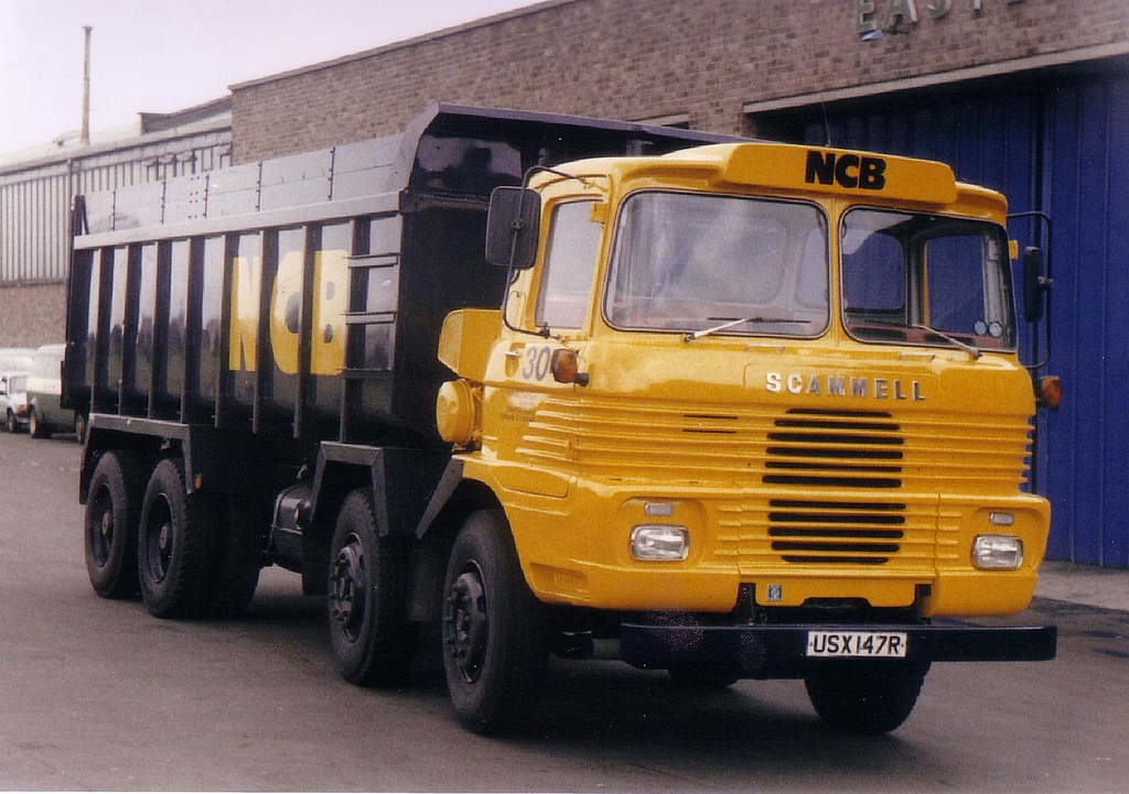 Scammell routeman photo - 5