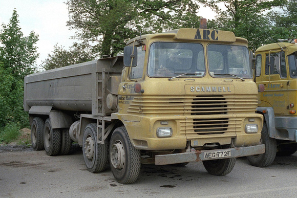Scammell routeman photo - 9