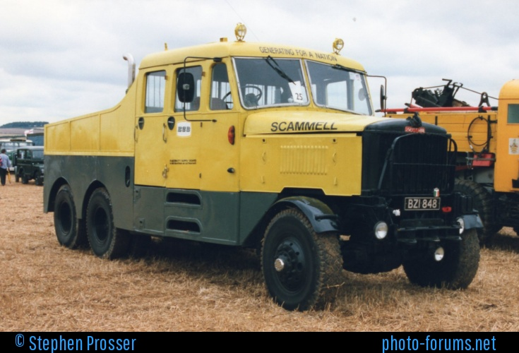 Scammell tractor photo - 10