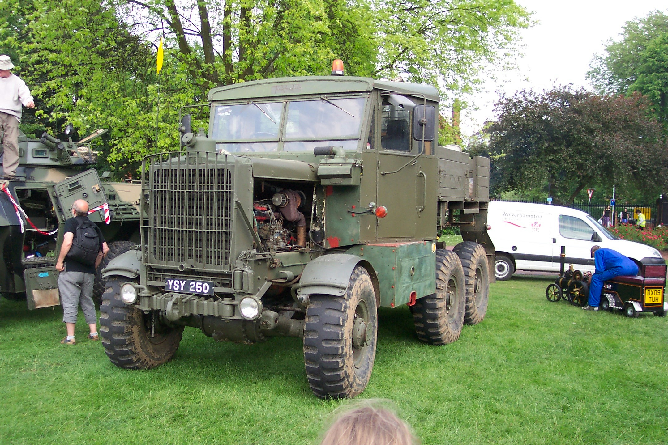 Scammell tractor photo - 5