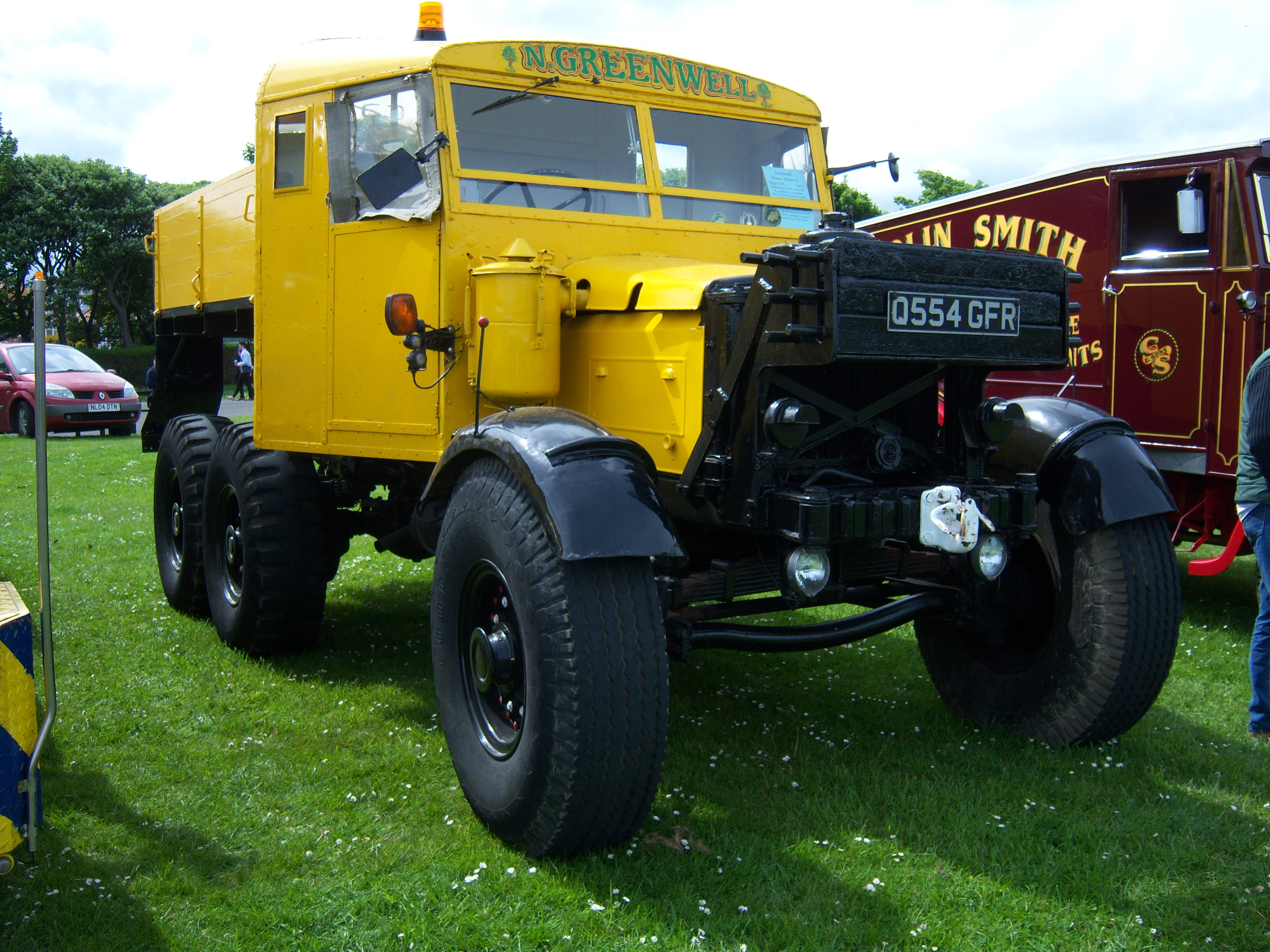 Scammell tractor photo - 6