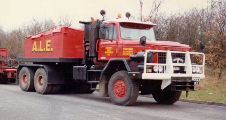 Scammell tractor photo - 7