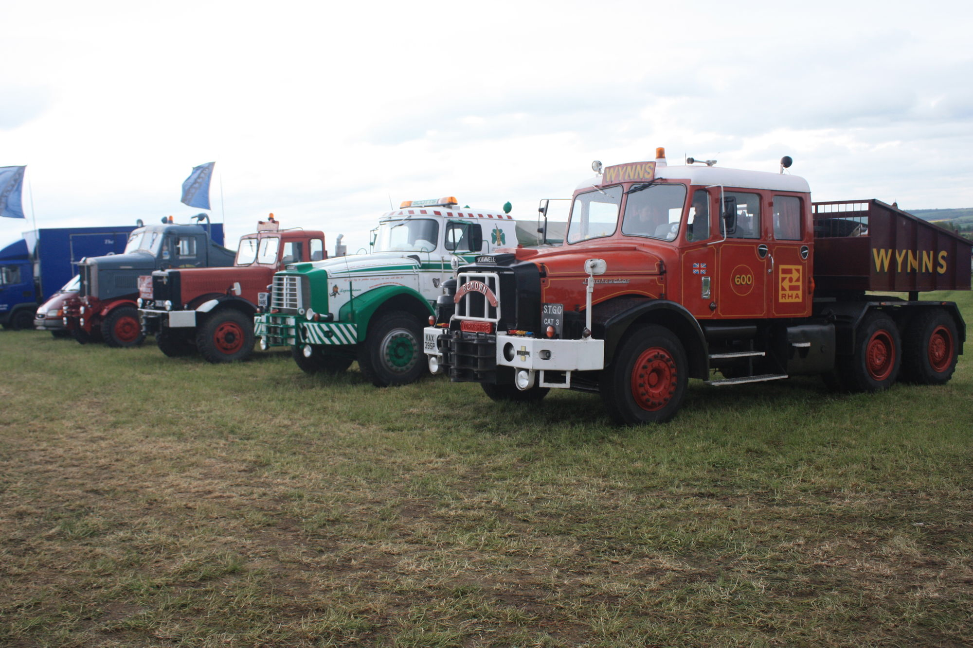 Scammell tractor photo - 8