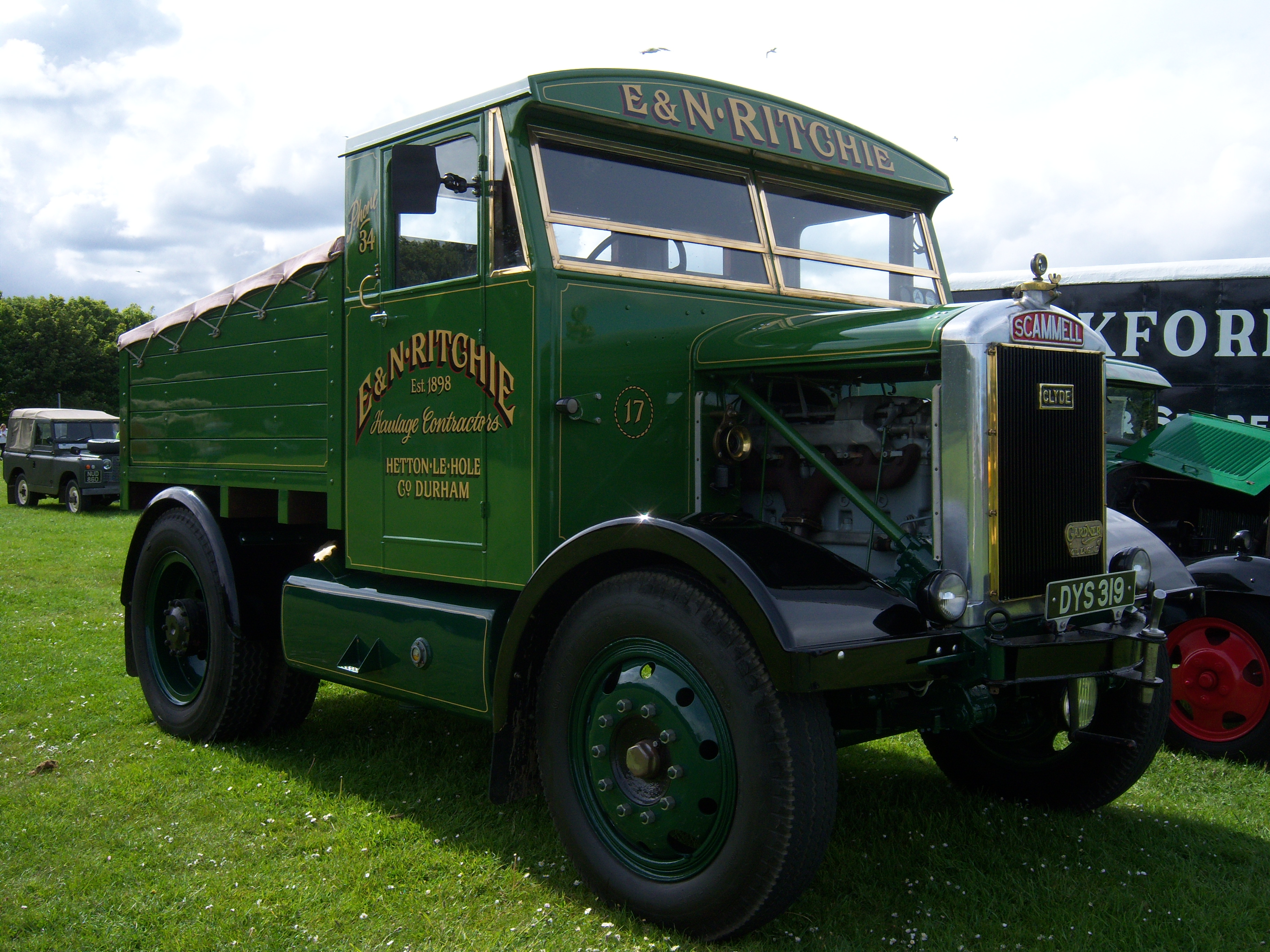 Scammell tractor photo - 9
