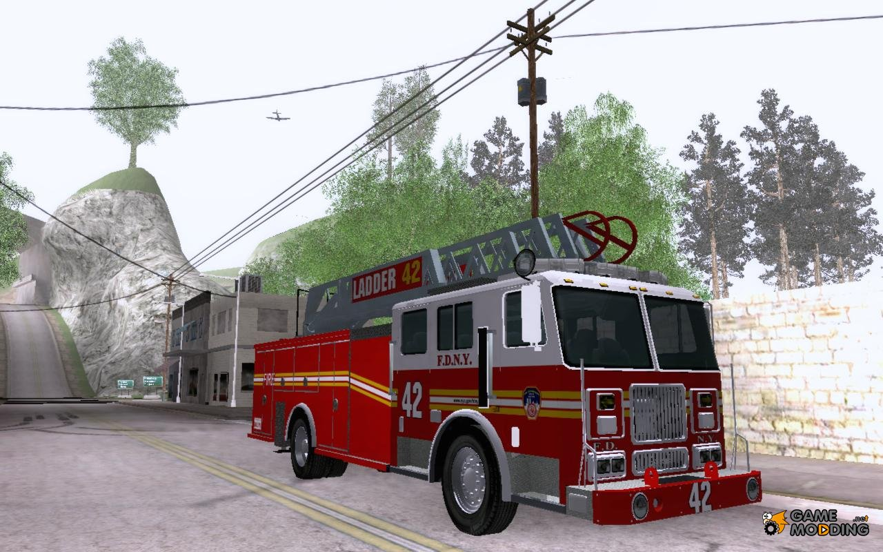 Seagrave ladder photo - 8