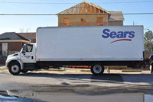 Sears delivery photo - 2