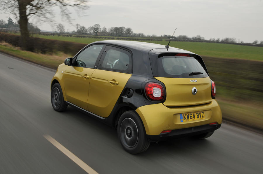 Smart forfour photo - 6