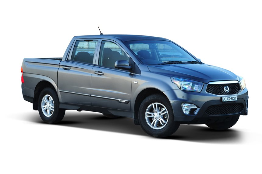 Ssangyong actyon photo - 10
