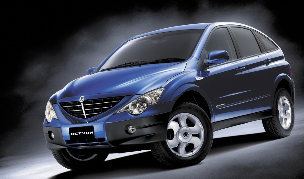Ssangyong actyon photo - 4