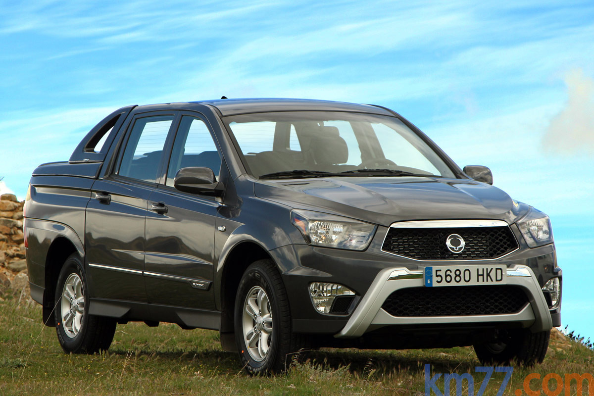 Ssangyong actyon photo - 7