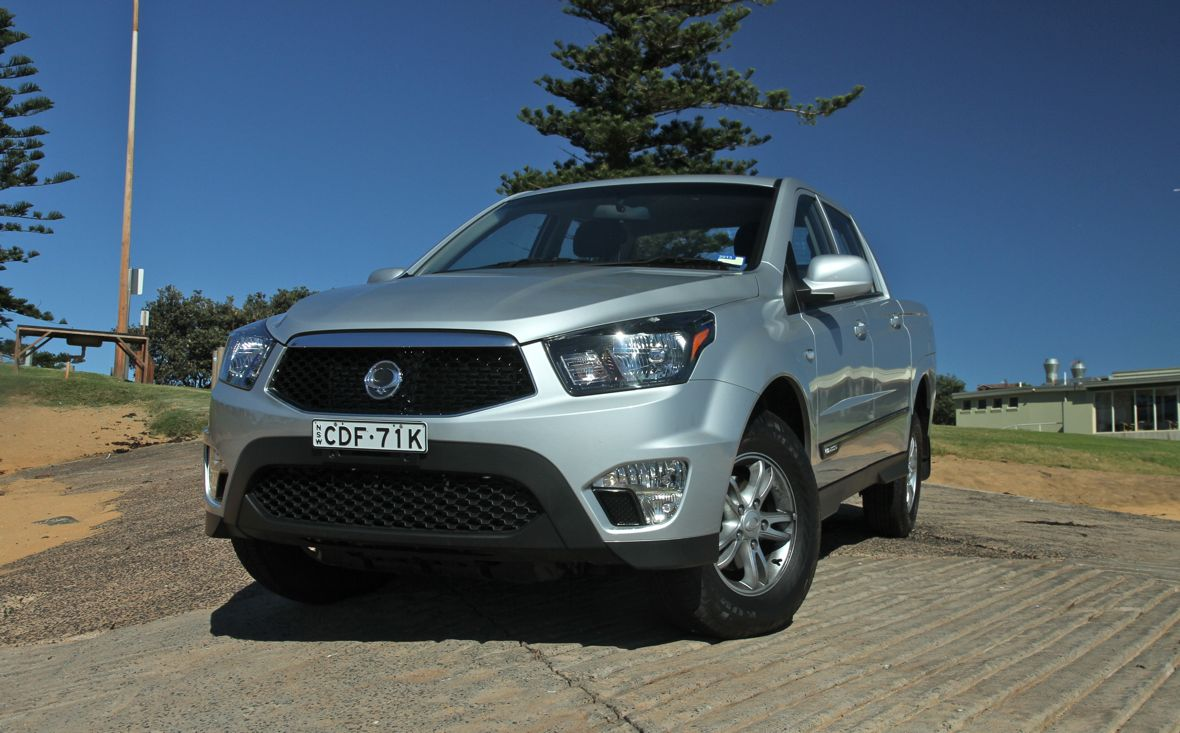 Ssangyong actyon photo - 9