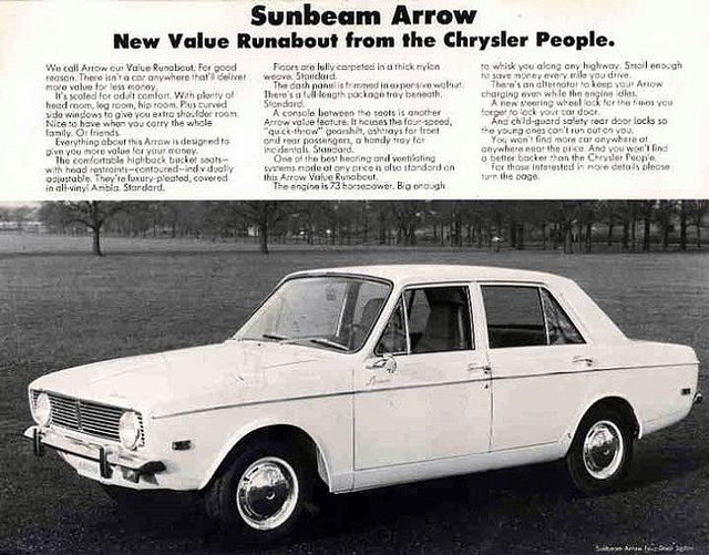 Sunbeam arrow photo - 5