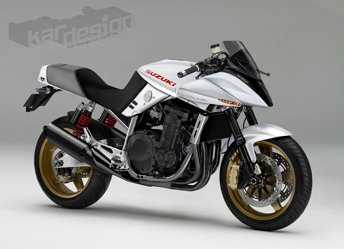 Suzuki katana photo - 4