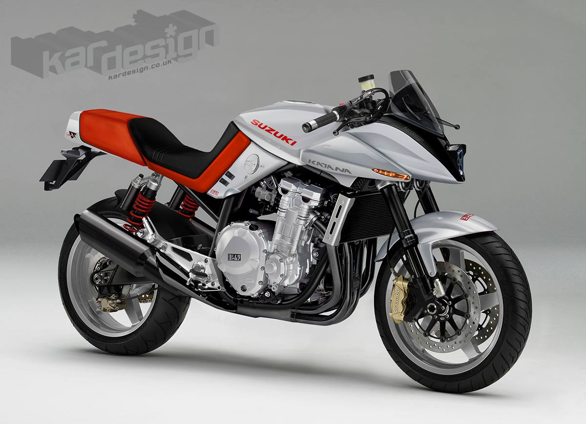 Suzuki katana photo - 6