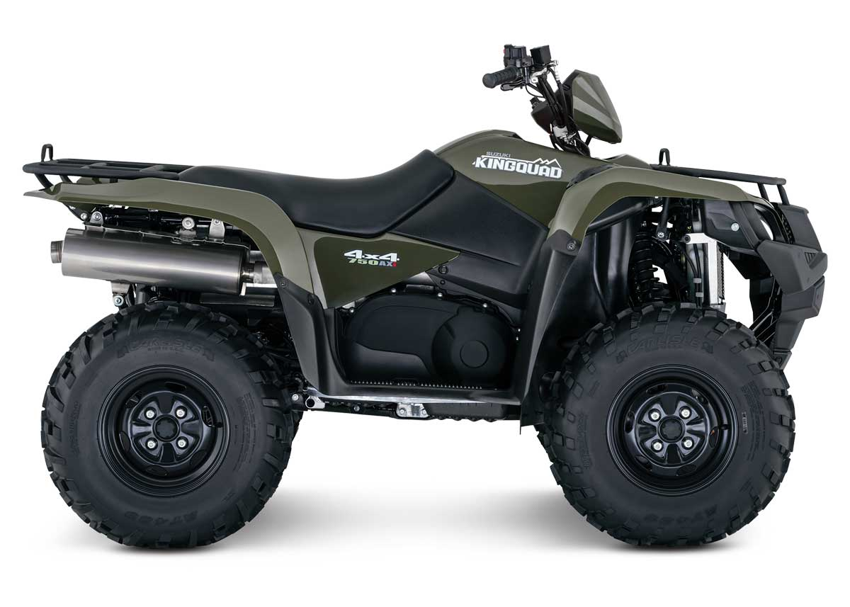 Suzuki kingquad photo - 10