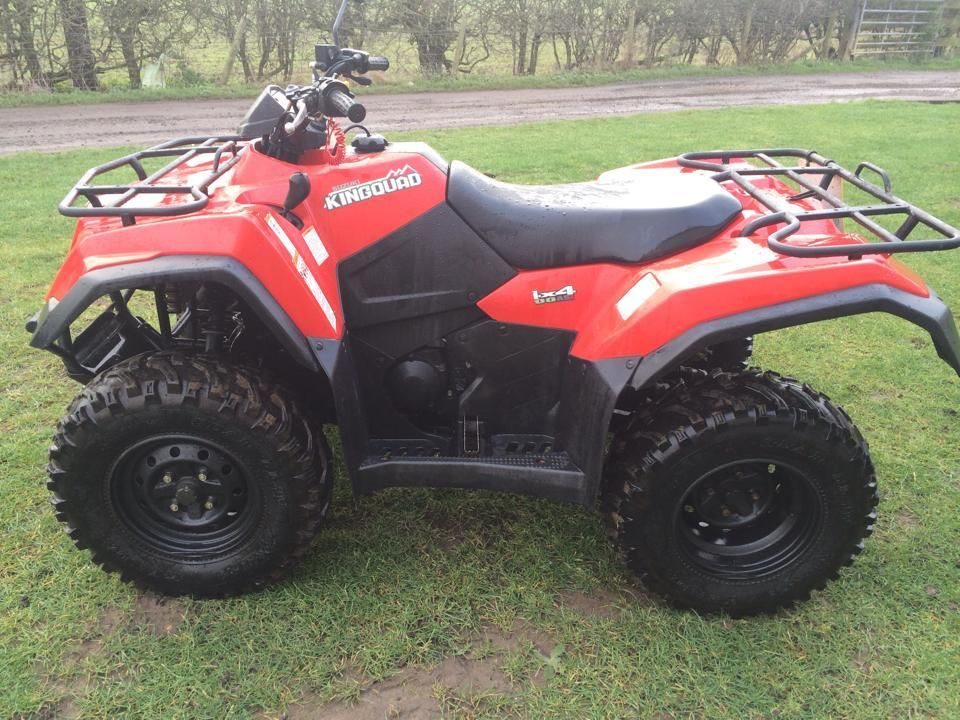 Suzuki kingquad photo - 5
