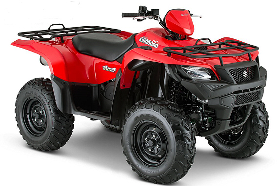 Suzuki kingquad photo - 6