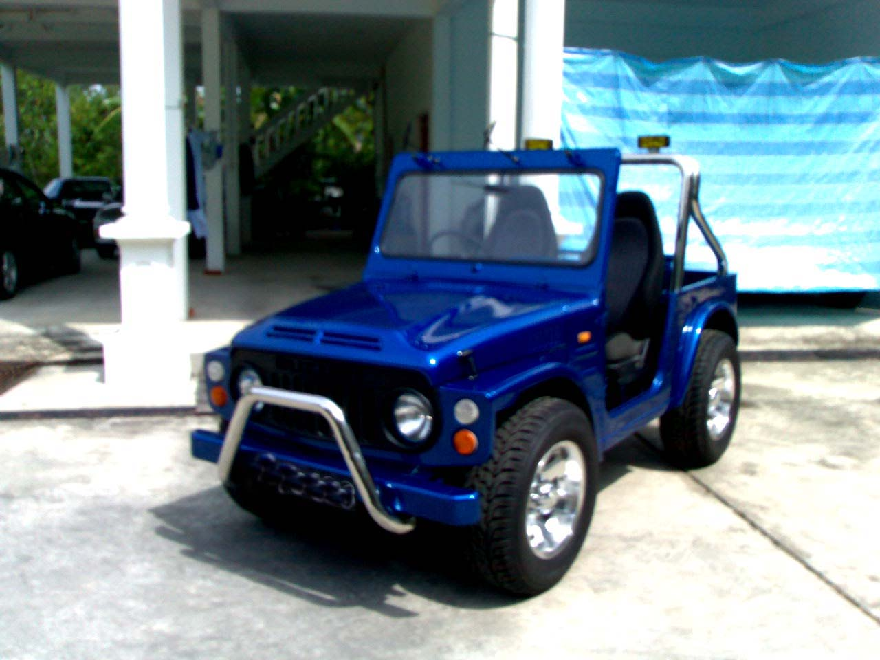 Suzuki lj80 photo - 1