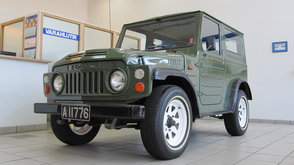 Suzuki lj80 photo - 4