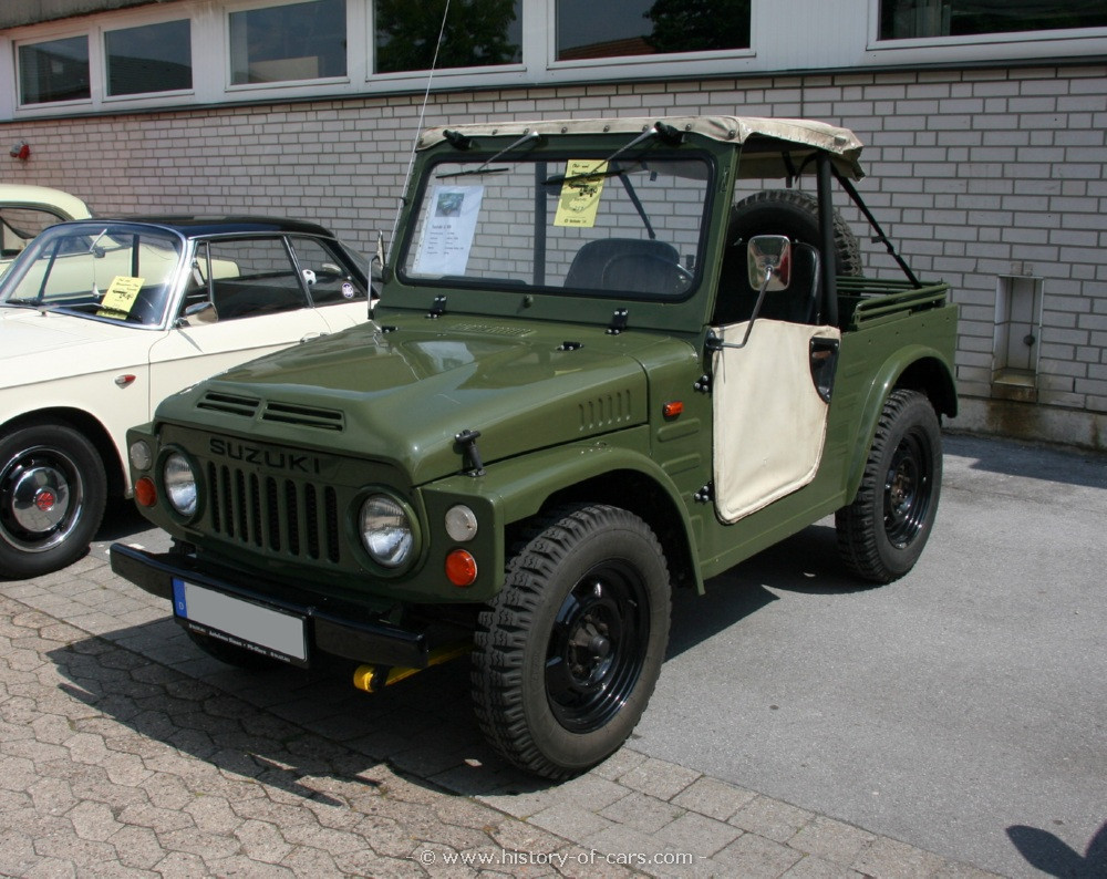Suzuki lj80 photo - 7