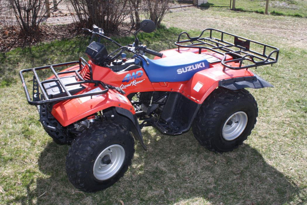 Suzuki quadrunner photo - 10