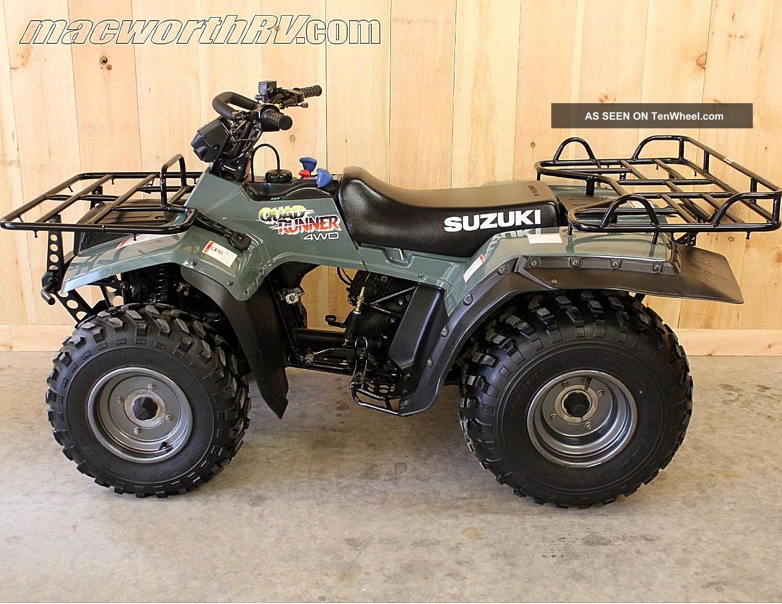 Suzuki quadrunner photo - 3