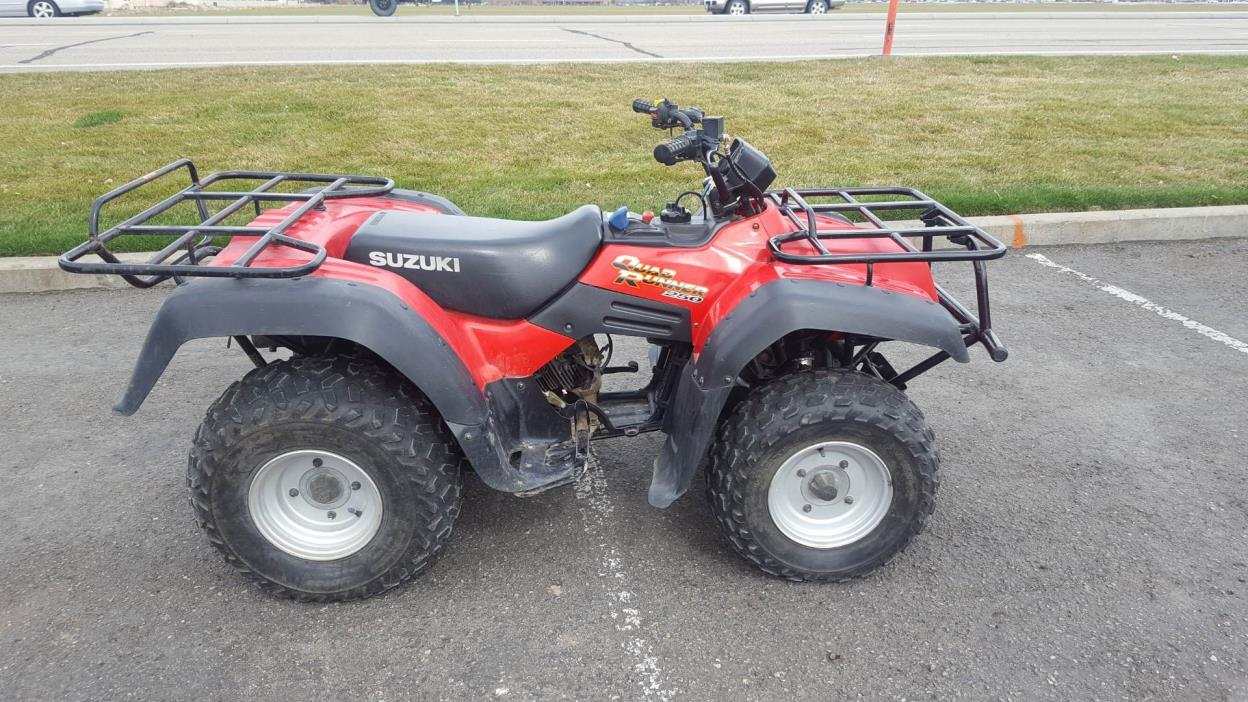 Suzuki quadrunner photo - 4