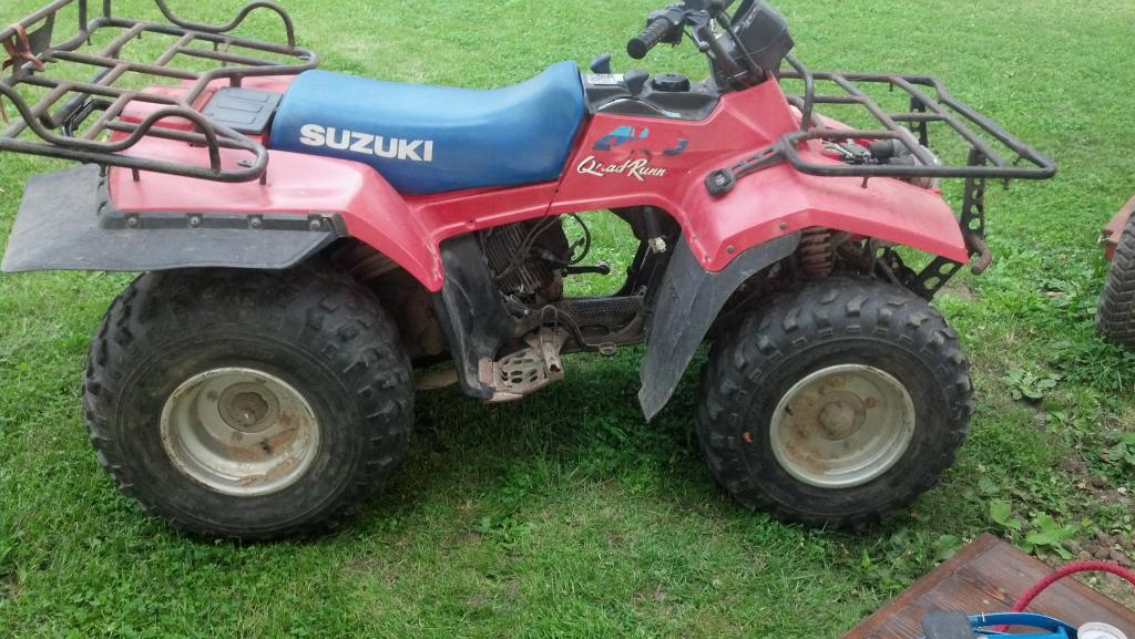 Suzuki quadrunner photo - 5