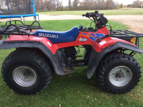 Suzuki quadrunner photo - 7