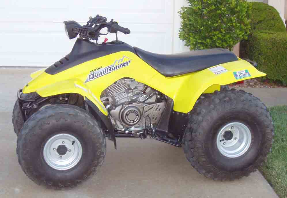 Suzuki quadrunner photo - 8