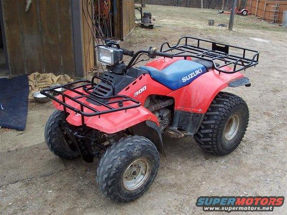 Suzuki quadrunner photo - 9