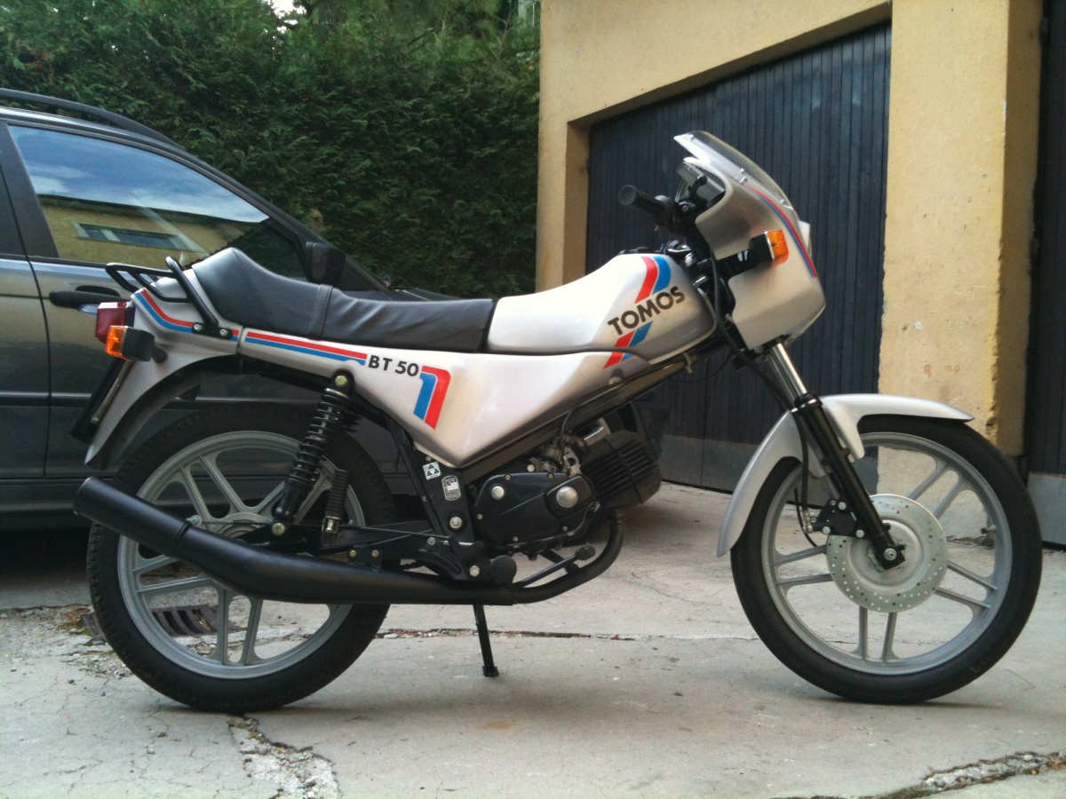 Tomos bt-50 photo - 2