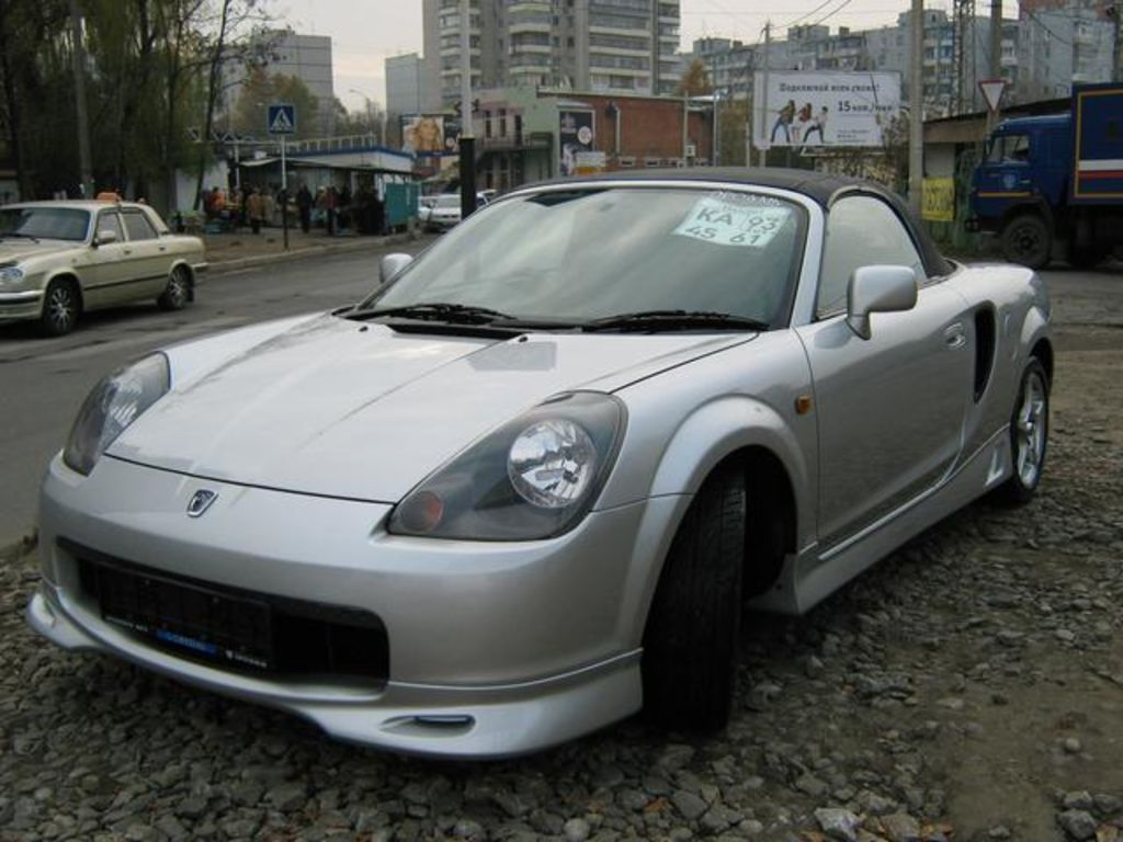 Toyota mr-s photo - 10