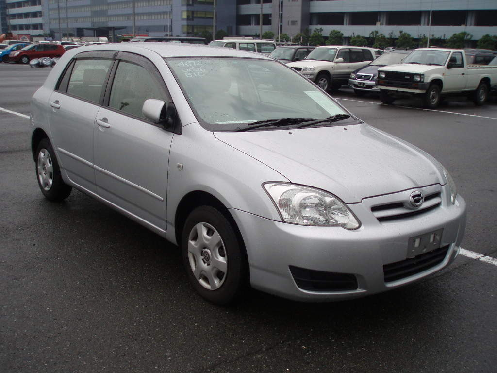 Toyota runx photo - 1