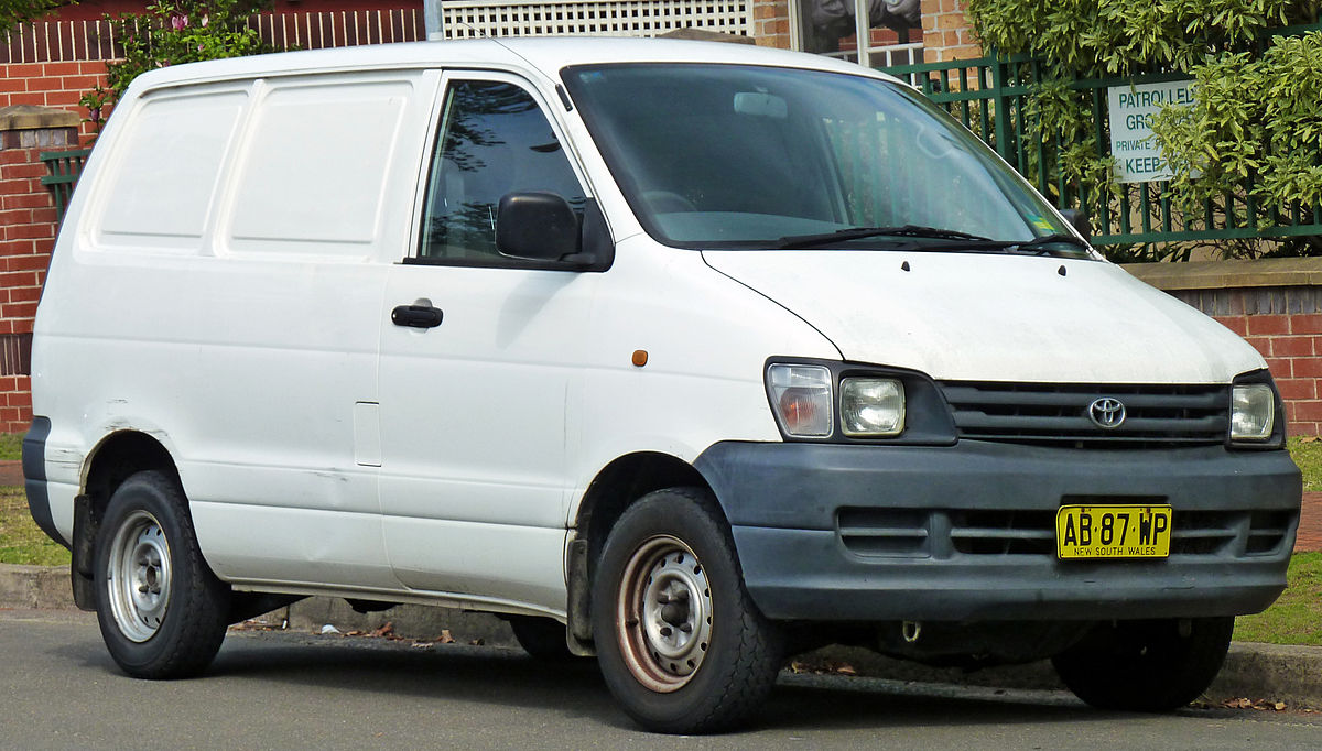 Toyota van photo - 10