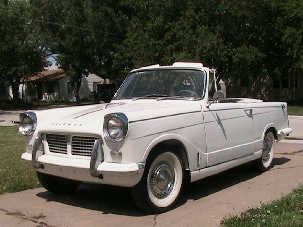 Triumph herald photo - 4