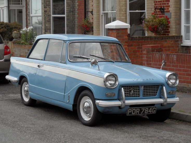 Triumph herald photo - 5
