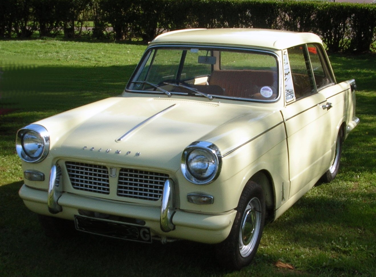 Triumph herald photo - 6