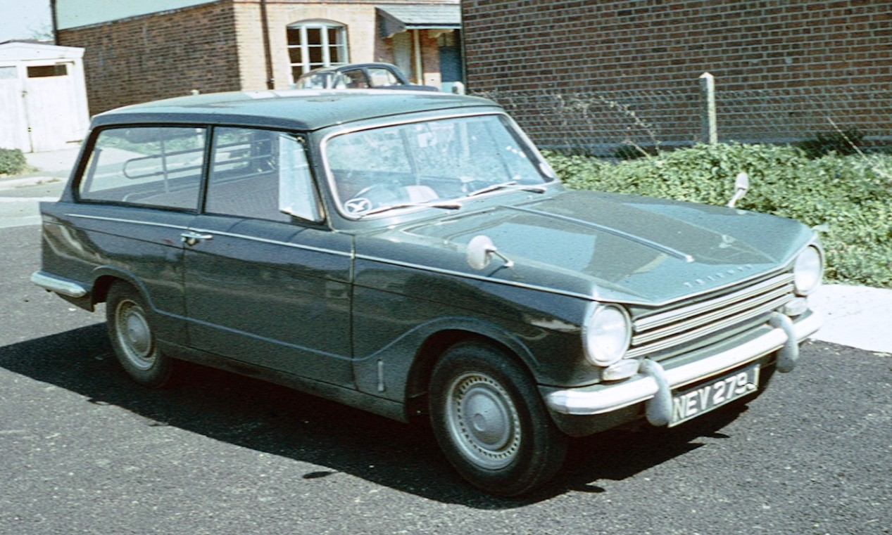 Triumph herald photo - 7