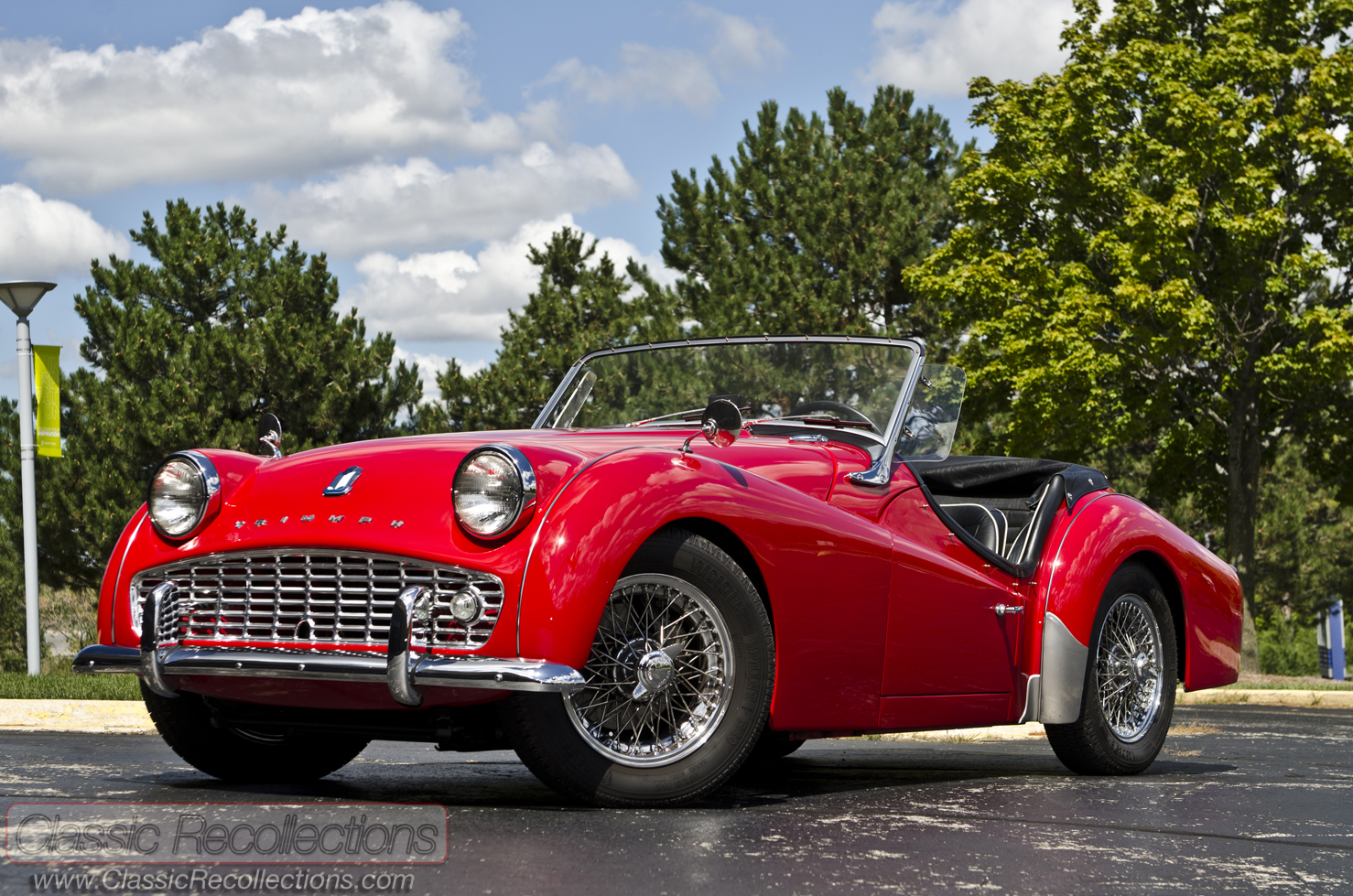 Triumph tr3a photo - 1
