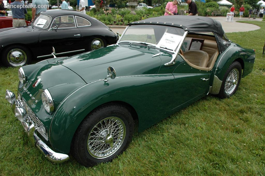 Triumph tr3a photo - 10