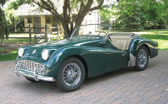 Triumph tr3a photo - 2
